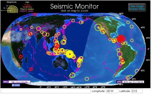 2010-01-13 - Seismic Monitor