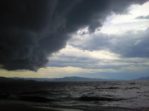 da série tempestades ... foto: arauto do futuro 05-01-2010